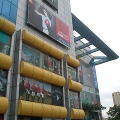 Photo taken at Garuda Mall by Chaitanya U. on 7/8/2012