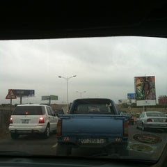 Photo taken at Spanner Junction Tetequashie Roundabout by Makafui on 8/1/2012