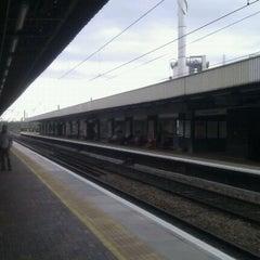 Photo taken at Warrington Bank Quay Railway Station (WBQ) by Debbie F. on 5/17/2012