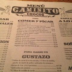 Photo taken at Caminito Chocos by Rafael Q. on 5/16/2012