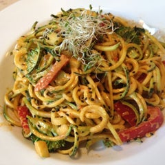 Photo taken at VSPOT Vegan Cafe by Kathryn R. on 4/22/2012