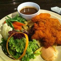 Photo taken at Tupai-Tupai Restaurant & Cafe by Ida on 2/18/2012