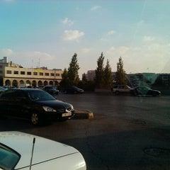 Photo taken at Waha Circle | دوار الواحة by Rami B. on 8/17/2012