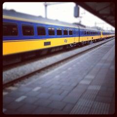 Photo taken at Station Hilversum by Johan d. on 4/6/2012