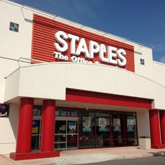 Photo taken at Staples by $ŦEPҤλ₦łE V. on 3/3/2012