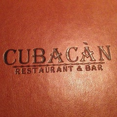 Photo taken at Cubacàn Restaurant and Bar by Taylor M. on 8/5/2012