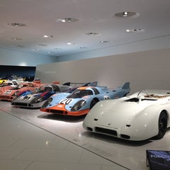 Photo taken at Porsche Museum by Felipe P. on 6/1/2012