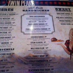 Photo taken at Twin Peaks Restaurant by Ripp C. on 2/12/2012