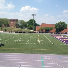 Photo taken at The Rock Bowl @ Loras College by Norra N. on 5/19/2012