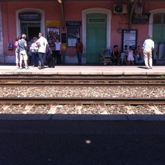 Photo taken at Gare SNCF de Nice Saint-Augustin by Christophe P. on 5/11/2012