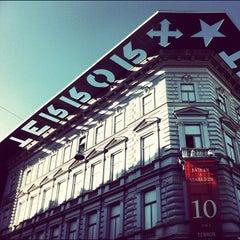Photo taken at Terror Háza | House of Terror Museum by Balázs S. on 6/16/2012