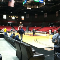 Photo taken at Convocation Center by Brian J. on 2/29/2012