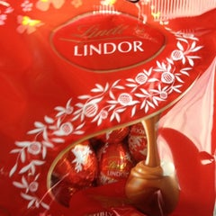 Photo taken at Lindt Factory Outlet by AlohaKarina on 7/20/2012