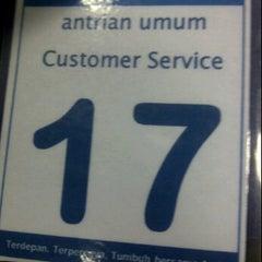 Photo taken at Bank Mandiri by dara t. on 3/20/2012