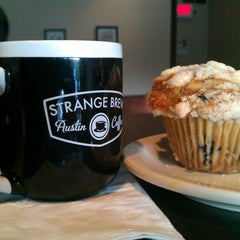 Photo taken at Strange Brew Austin Coffee by Gabe G. on 7/15/2012