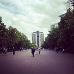 Photo taken at Метро Сокольники (metro Sokolniki) by Matt S. on 6/25/2012