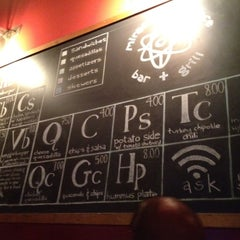 Photo taken at Miracle of Science Bar & Grill by Tyler M. on 4/15/2012