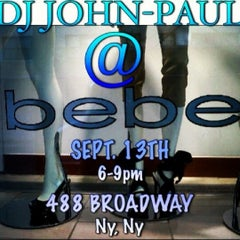 Photo taken at Bebe by DJ JOHN PAUL on 9/13/2012