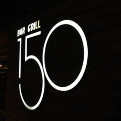 Photo taken at 150 Bar & Grill by Ramin M. on 7/9/2012