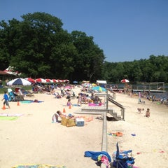 Photo taken at Mt. Gretna Lake & Beach by Phil S. on 6/10/2012