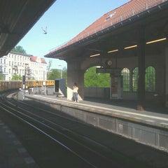 Photo taken at U Schlesisches Tor by John W. on 4/28/2012