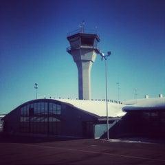 Photo taken at Kittilä Airport (KTT) by Hanna L. on 4/6/2012