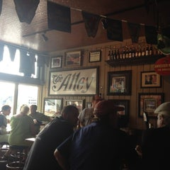 Photo taken at The Alley Bar by Cassaundra H. on 5/25/2012