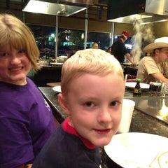 Photo taken at Umi Japanese Steak House & Sushi Bar by Brandi C. on 4/7/2012