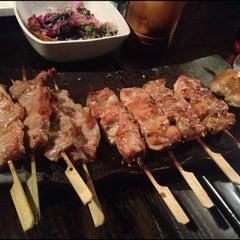 Photo taken at Gaku Yakitori by Scanner on 9/1/2012