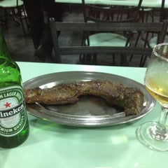 Photo taken at Churrascaria Coqueiro Verde by Mírian M. on 8/9/2012