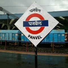 Photo taken at Panvel Railway Station by Vicky D. on 7/23/2012