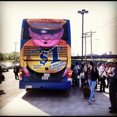 Photo taken at Megabus stop by Francis S. on 5/11/2012