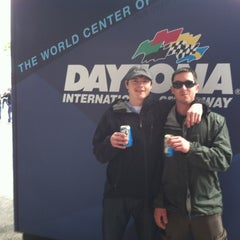 Photo taken at Daytona International Speedway by Derek G. on 2/26/2012