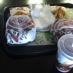 Photo taken at Burger King by Saskia B. on 7/24/2012