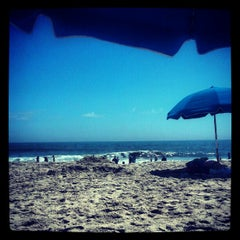 Photo taken at 59th St Beach by Jim S. on 8/27/2012