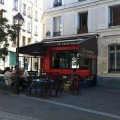 Photo taken at La Sardine by martin p. on 8/17/2012