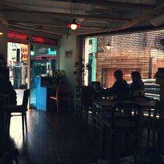 Photo taken at cafe Port by Ji Yeon J. on 4/20/2012