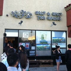 Photo taken at Half & Half Tea House 伴伴堂 by Darryl on 5/27/2012