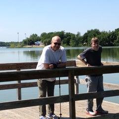 Photo taken at Lake Nokomis Fishing Dock by Joan F. on 6/30/2012