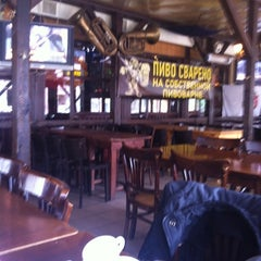 Photo taken at Портер Паб / Porter Pub by Travel Hit w. on 3/31/2012
