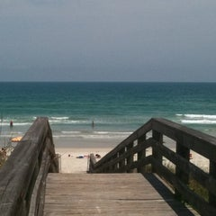 Photo taken at Wilbur-by-the-Sea Beach by Mary J. on 4/29/2012