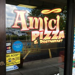 Photo taken at Amici Pizza & Restaurant by Don G. on 6/8/2012