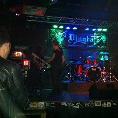 Photo taken at Dingbatz by Gladys R. on 4/7/2012