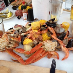 Photo taken at The Crab Pot by Bobby D. on 8/28/2012