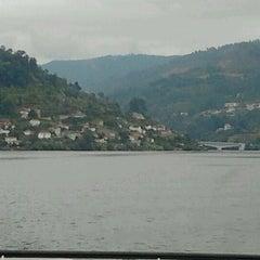 Photo taken at Porto Manso by Lurdes on 8/28/2012