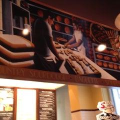 Photo taken at Corner Bakery Cafe by Brandon M. on 4/18/2012