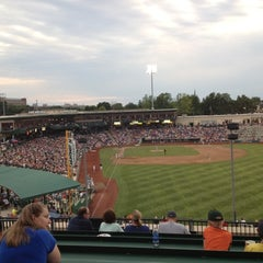 Photo taken at Fort Wayne TinCaps Baseball by Ariel K. on 6/24/2012