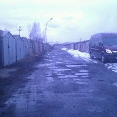 Photo taken at Гаражи by Oleg K. on 4/3/2012