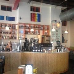 Photo taken at Halcyon Coffee, Bar & Lounge by CoachDeb C. on 8/7/2012
