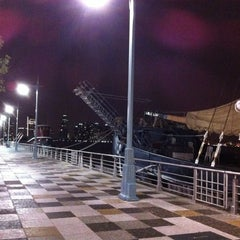 Photo taken at Pier 25 — Hudson River Park by ♛♉ Mario C. on 6/25/2012